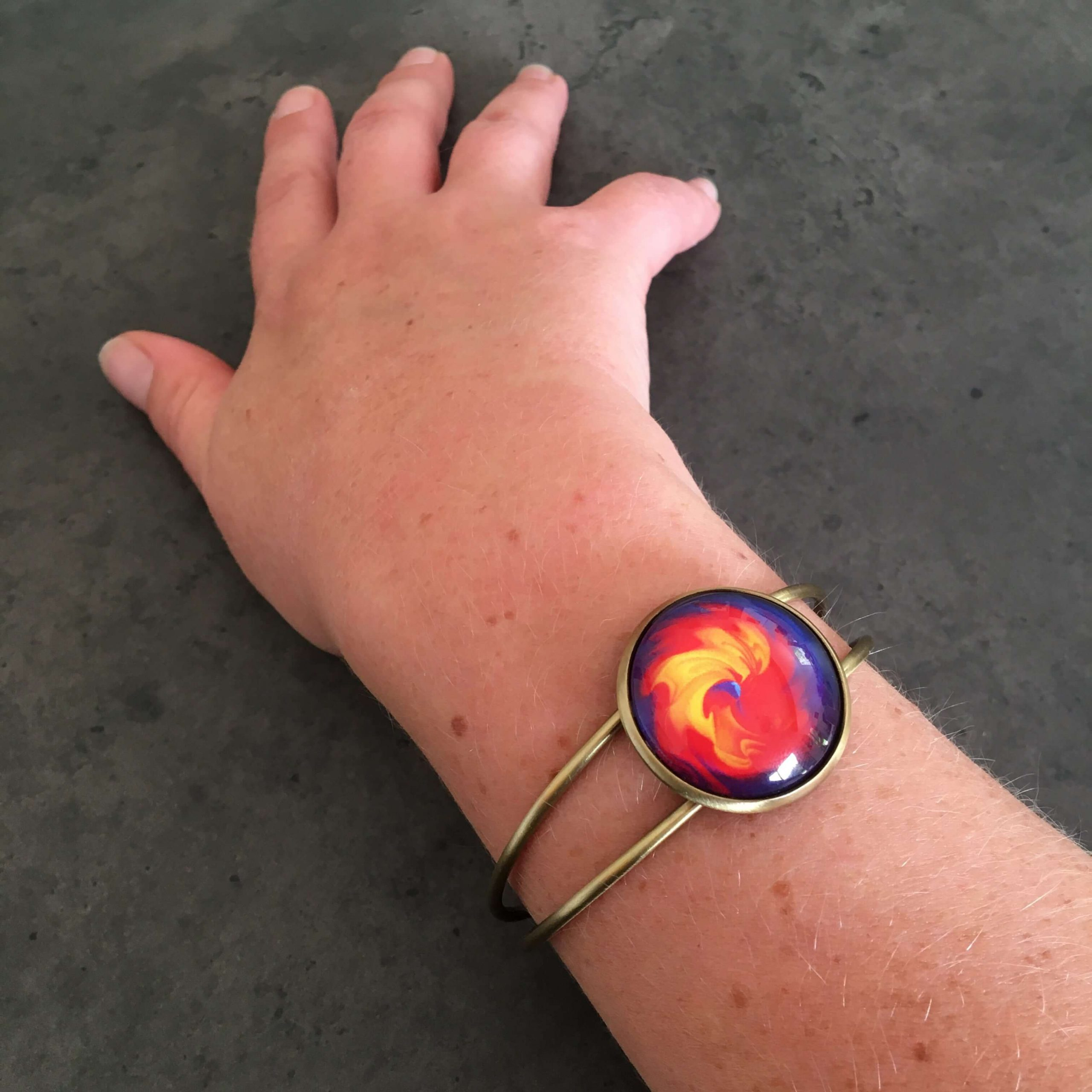 bracelet-bijou-fantaisie-colore-tourbillon-mathematique-geek