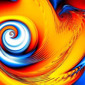 Tourbillon mathématique Œil du cyclone