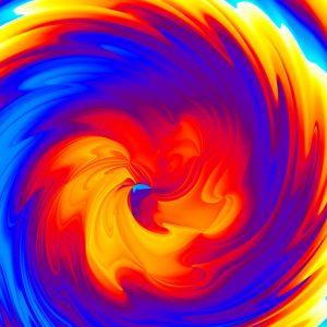 Tableau tourbillon mathématique Supersonique